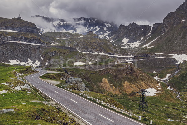 Transfagarasan winding road Stock photo © photosebia