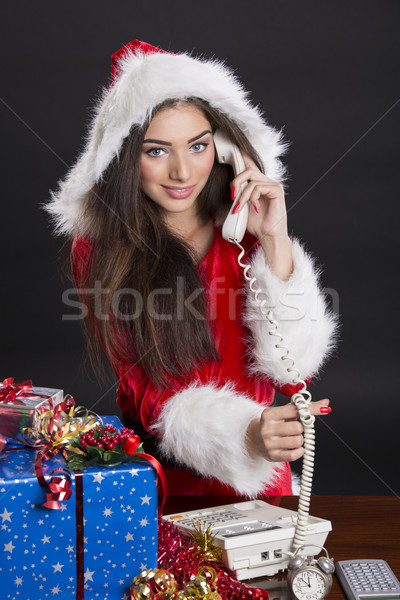 Christmas calls Stock photo © photosebia