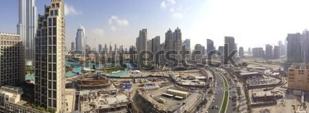 şehir merkezinde panoramik görmek büyük gelişme Stok fotoğraf © photosebia