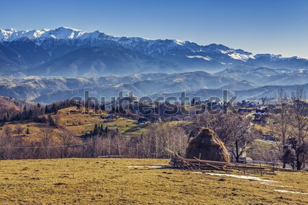 Alpine countryside scenery Stock photo © photosebia