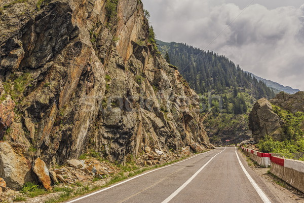 Transfagarasan road, Romania Stock photo © photosebia