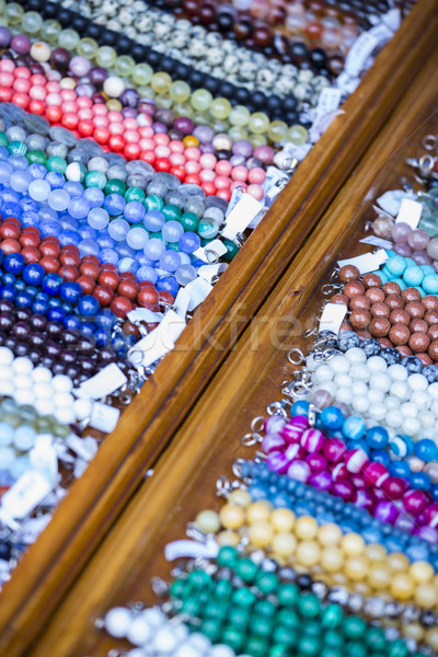 Prateleira colorido fechar ver Foto stock © photosebia