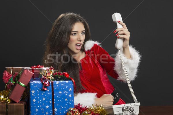 Christmas time crisis Stock photo © photosebia