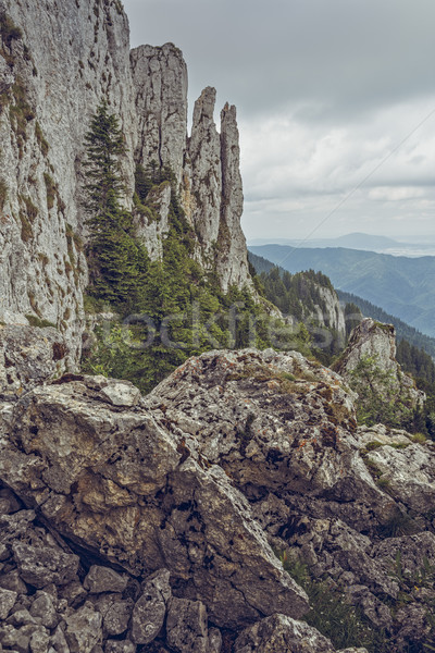 Piatra Mare Massif, Romania Stock photo © photosebia