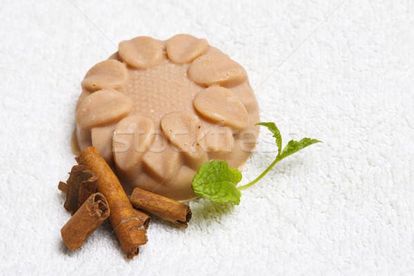 Handmade flavored soap Stock photo © photosebia