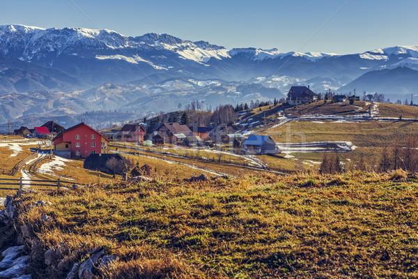 Pestera village, Romania Stock photo © photosebia