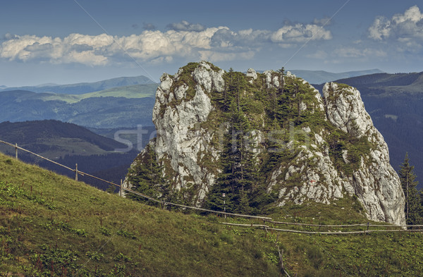 Alpine scene, Piatra Mare, Romania Stock photo © photosebia