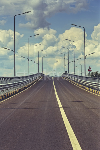 Empty highway road Stock photo © photosebia