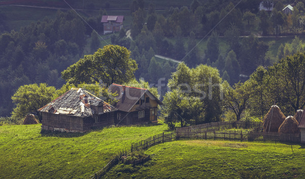 Pittoresque rural paysages distant vieux traditionnel Photo stock © photosebia