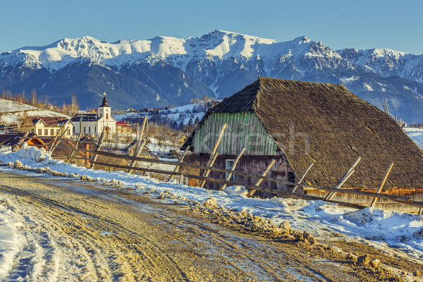 Rural winter scenery Stock photo © photosebia