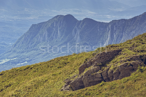 Beautiful alpine scenery Stock photo © photosebia
