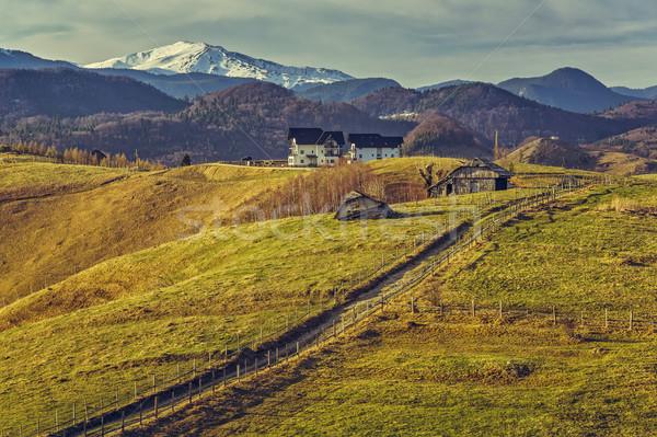 румынский сельский мнение спокойный традиционный Сток-фото © photosebia