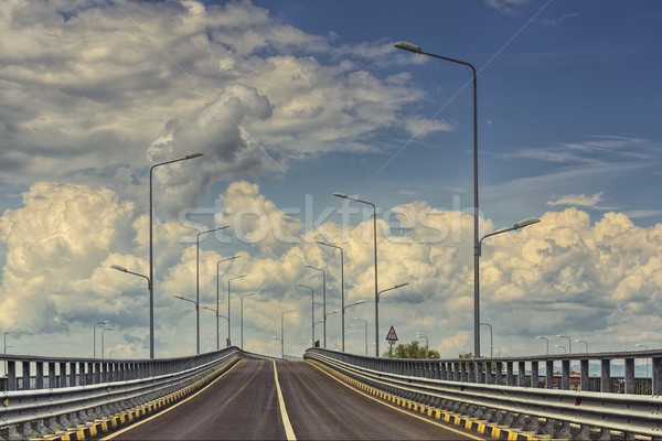 Empty highway road Stock photo © photosebia