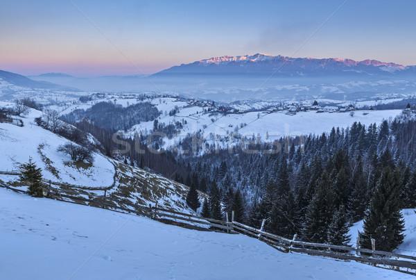 Winter mountain landscape Stock photo © photosebia