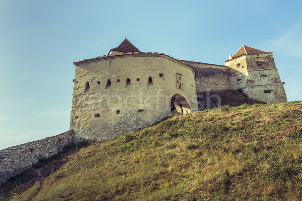 Rasnov medieval citadel, Romania Stock photo © photosebia