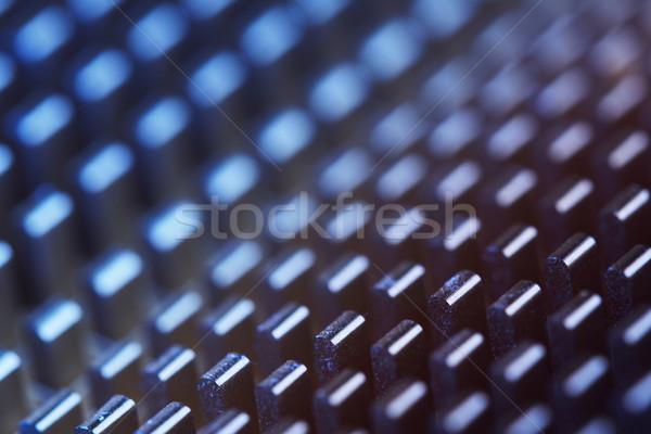 Abstract metallic pattern Stock photo © photosebia