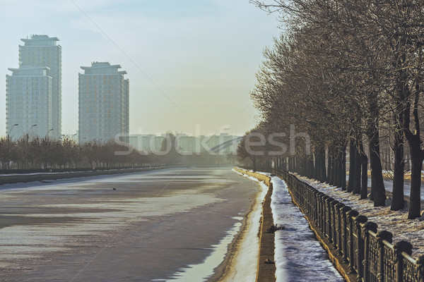Bucharest cityscape Stock photo © photosebia
