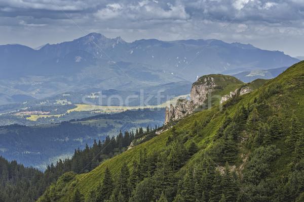 Cênico alpino paisagem Romênia verde Foto stock © photosebia