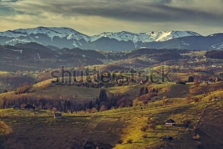 Picturesque rural landscape Stock photo © photosebia