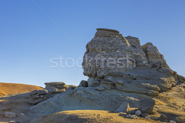 The Sphinx rock Stock photo © photosebia
