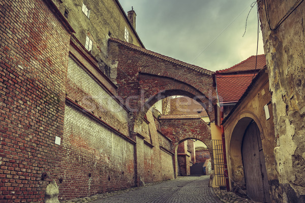 Cityscape, Sibiu, Romania Stock photo © photosebia