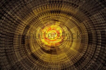 Rotating ferris wheel motion blur Stock photo © photosebia