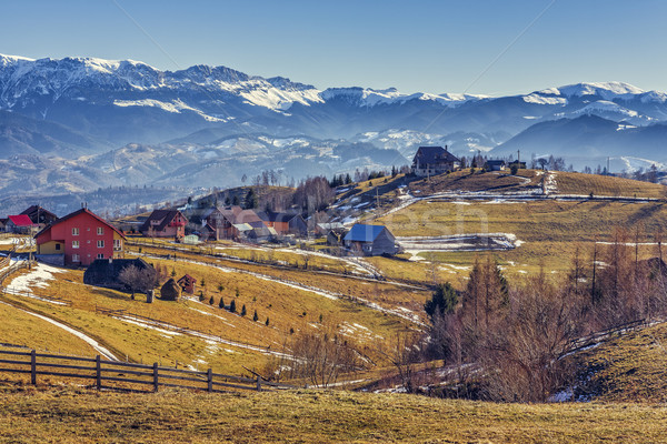 Pestera village, Romania Stock photo © photosebia
