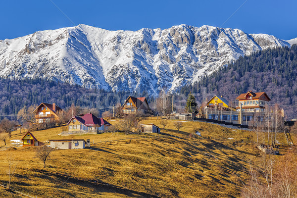 Piatra Craiului mountains, Romania Stock photo © photosebia