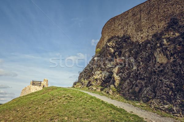 Fortress walls Stock photo © photosebia