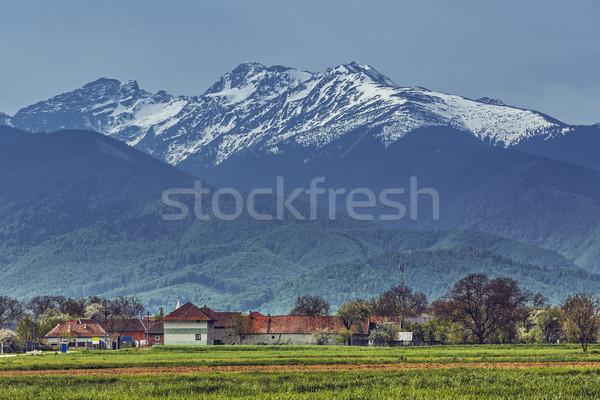 Fagaras mountains, Romania Stock photo © photosebia