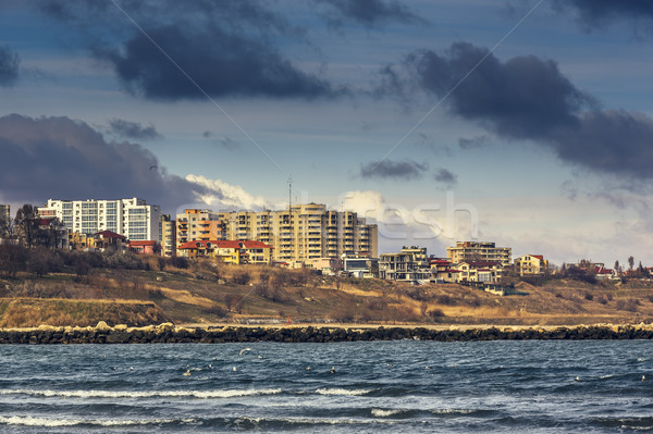 Black Sea coast, Constanta, Romania Stock photo © photosebia