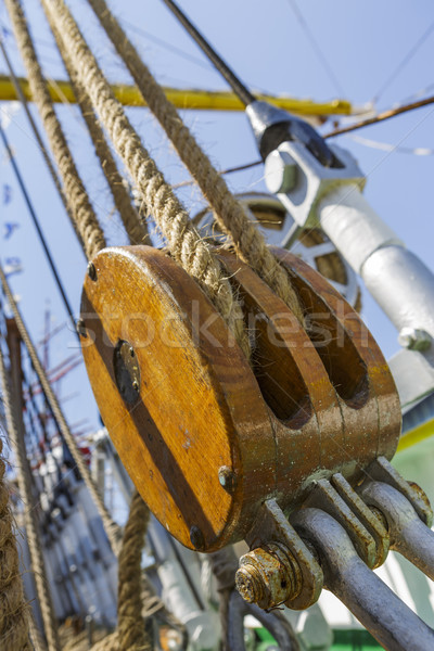 Marine ropes and rigging Stock photo © photosebia