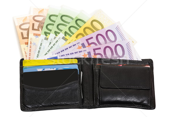 Loaded wallet  Stock photo © photosebia