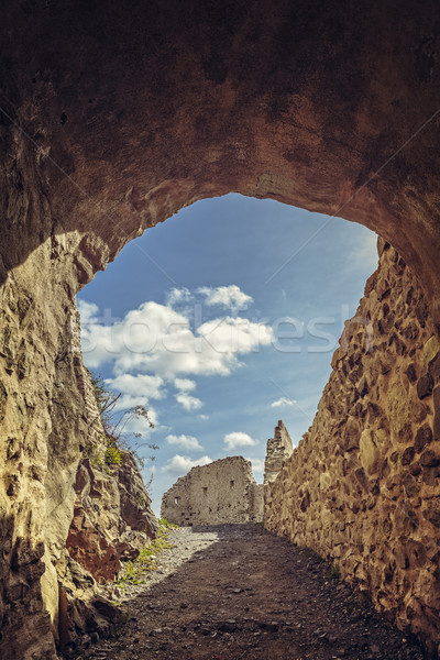Citadel fortified walls Stock photo © photosebia