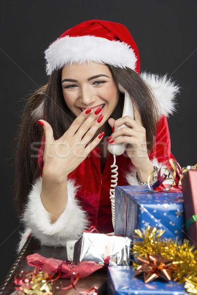 Christmas fun Stock photo © photosebia