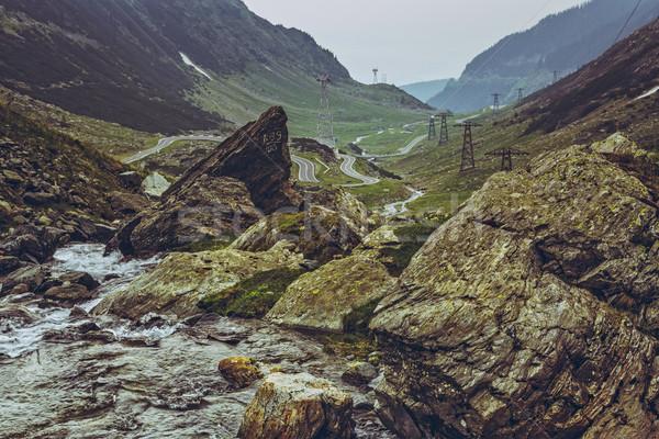 Vue Roumanie scénique eau douce écouter Photo stock © photosebia