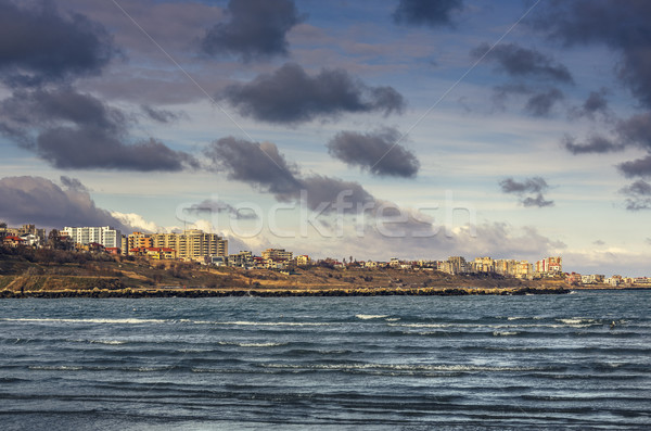 Black Sea coastline, Constanta, Romania Stock photo © photosebia