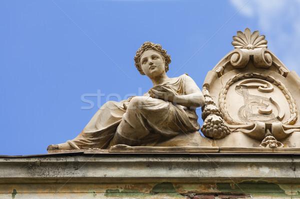 классический женщины скульптуры орнамент исторический Сток-фото © photosebia