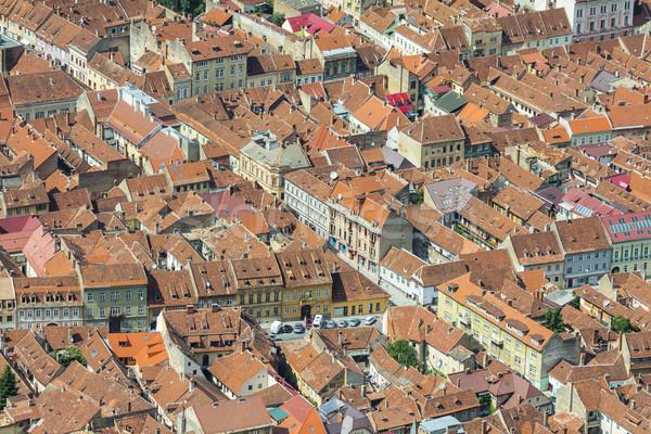 Romanya tarihsel şehir üst Stok fotoğraf © photosebia