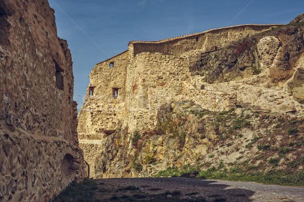 Rupea citadel fortified walls Stock photo © photosebia
