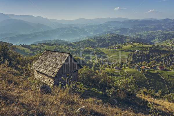 Idyllic rural scenery Stock photo © photosebia