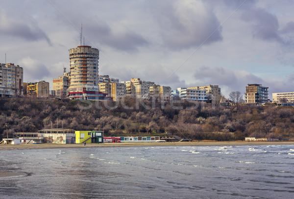 Black Sea shore, Constanta, Romania Stock photo © photosebia