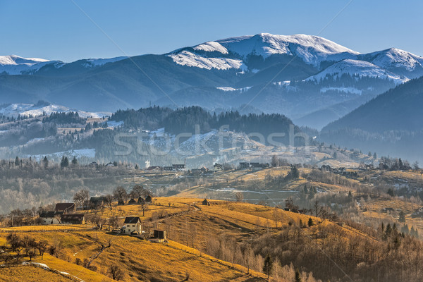 Rural mountain landscape Stock photo © photosebia