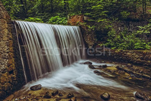 Сток-фото: горные · водопада · реке · долины · известный