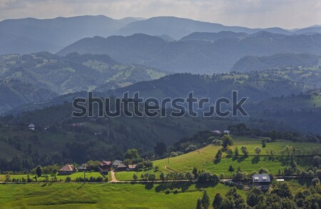 Rucar-Bran pass, Transylvania, Romania Stock photo © photosebia