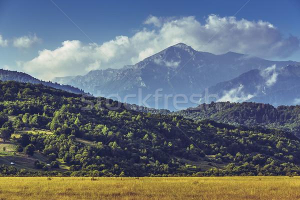Scenic mountain landscape Stock photo © photosebia