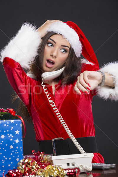 Running out of time on Christmas Eve Stock photo © photosebia