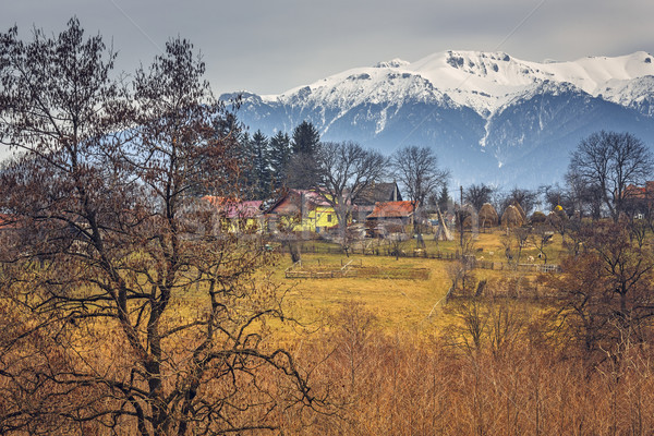 Romanian rural landscape Stock photo © photosebia