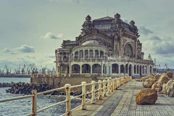 Constanta Casino, Romania Stock photo © photosebia