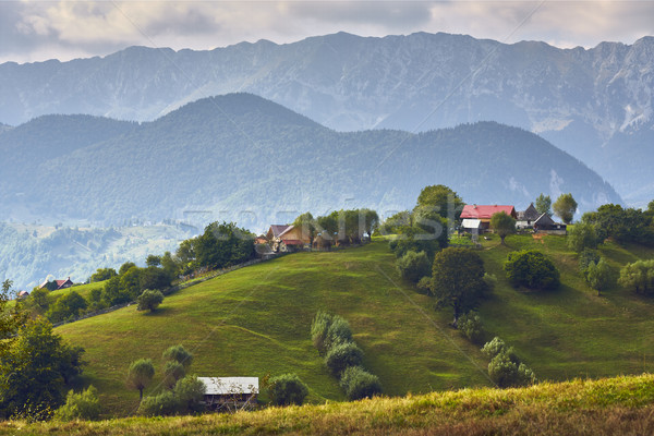Rural mountain landscape, Transylvania, Romania Stock photo © photosebia